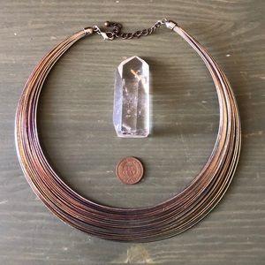 Vintage 90s Oil Slick Goddess Collar